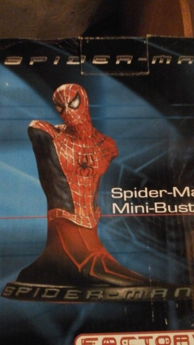 Spider-man movie mini bust -