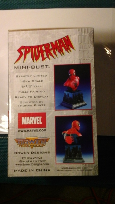 Spiderman Mini Bust