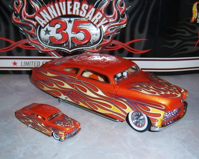 Hot Wheels - 17th ANNUAL COLLECTORS CONVENTION - 35th Anniversary '49 Merc Set - 1:24 & 1:64 Scale Limited Edition to only - for sale